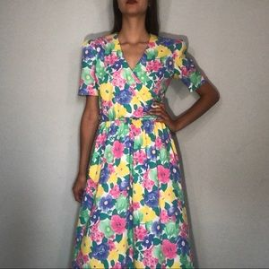 🌼NEW🌼 1980s floral dress